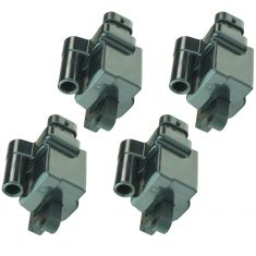 99-07 Buick Cadillac Chevy GMC Hummer Isuzu Ignition Coil Square Set of 4
