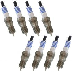 94-11 GM; 78-13 Ford; 78-13 Ford, Lincoln, Mercury SP493 Spark Plug (Set of 8) (Motorcraft)
