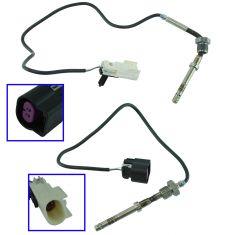 07-10 Silverado, Sierra 6.6L Dsl (Before & After PF) Exh Temp Sensor Pair (WK)