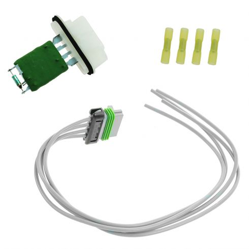 Blower Motor Resistor w// Plug Pigtail for Chevrolet Colorado Canyon OE# 15218254