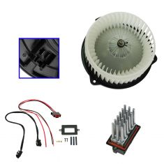 99-01 Jeep Grand Cherokee Blower Motor and Upgraded Resistor Kit