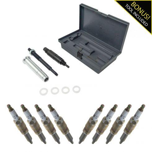 1AETK00038-Ford Lincoln Mercury Spark Plug 9 Piece Set