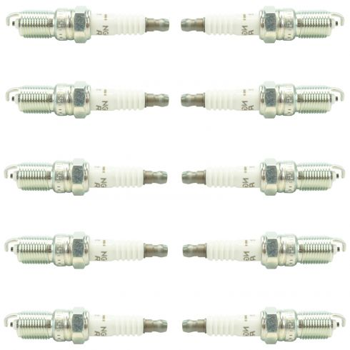 NGK 3951 V-Power Premium Plugs Set of 10  for Chevy GMC Ford