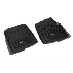04-08 Ford F150 Black Front Floor Liner SET (Rugged Ridge)