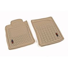 10-14 Toyota 4Runner Tan Front Floor Liner SET (Rugged Ridge)