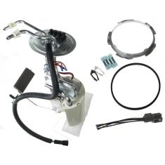 92-96 Ford PU Fuel Pump Module w/2 Outlets for LH 16 Gal Tank