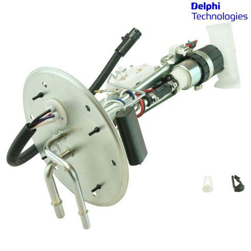 97-04 F150 Heritage; 97-99 F250 w/Gas Eng Electric Fuel Pump w/Hanger & Sending Unit Assy (Delphi)