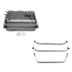 78-86 Jeep CJ5 CJ7 Scrambler Fuel Tank w/Strap Set