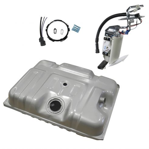 Fuel Tank w/ Sending Unit Kit Ford 18 Gal
