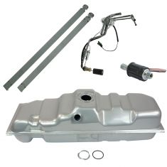 Fuel Tank w/ Sending Unit & Ext Fuel Pump Kit GM 25 Gal Diesel 8' Bed