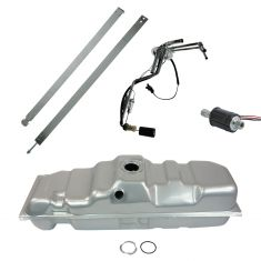 Fuel Tank w/ Sending Unit & Ext Fuel Pump Kit GM 25 Gal Diesel 6' Bed