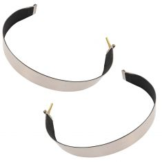 87-11 Kenworth Multifit (w/26 In Dia Fuel Tnk) T- Bolt Mntng Gas Tank Strap Front or Rear PAIR (DM)