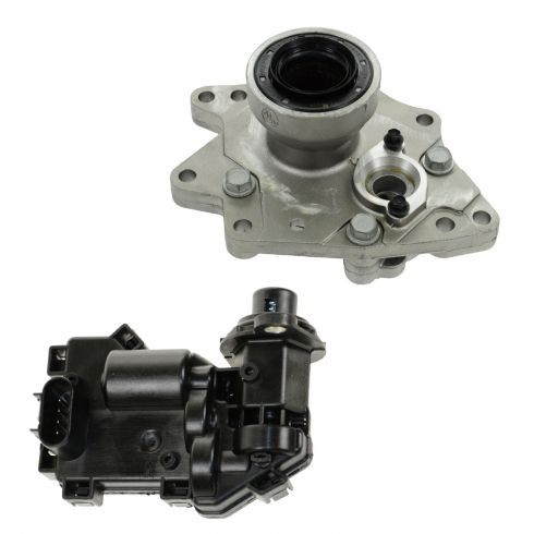 02-09 Chevy, GMC, Isuzu SUV Multifit (w/Part Time 4WD) Front Axle Disconnect Housing & Actuator Kit