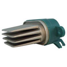 03-10 Cayenne; 04-09 VW Touareg; 07-14 Q7 (w/Rear AC) Front or Rear Heater Blower Motor Resistor