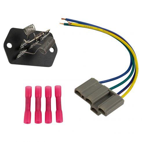 International Blower Motor Resistor Wiring Harness Dorman 973-50911A Auto