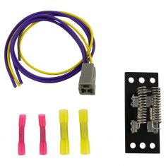 90-02 IC Corp, International Multifit (w/3 Terminal Conn) 3 Spd Blwr Mtr Resistor w/Harness Kit (DM)
