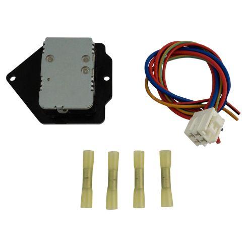 Hino Blower Motor Resistor Wiring Harness Dorman 973-50951A Auto