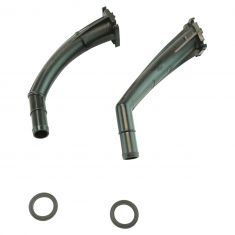 02-04 Nissan Frontier Crew Cab; 01-04 Xterra Heater Core Extension Tube w/O-Ring PAIR