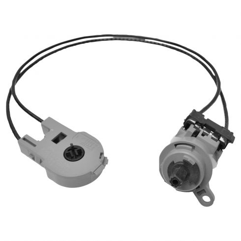 00-11 Ford Focus; 10-13 Transit Connect Dash Mtd Htr A/C Mode Selector Switch w/Cables (Motorcraft)