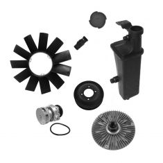 Water Pump, Fan, Expansion Tank & Thermostat Kit