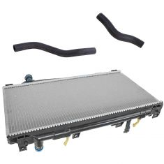 Cooling Repair Kit Radiator /& Upper Lower Hoses For Honda Civic 1.7L A//T 01-05
