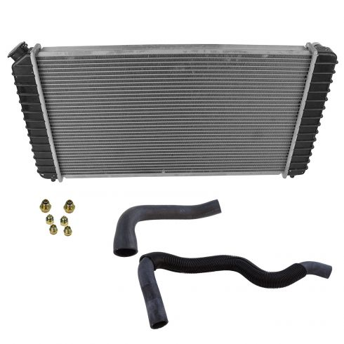 How To Replace Radiator 96 04 Chevy S10 Pickup 1A Auto
