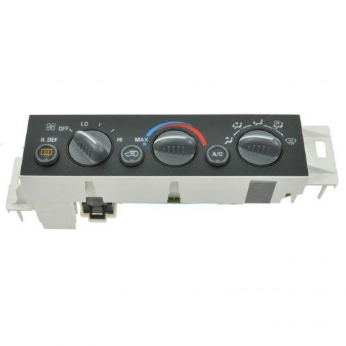 Heater & A/C Control