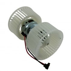 Heater Blower Motor with Dual Fan Cage
