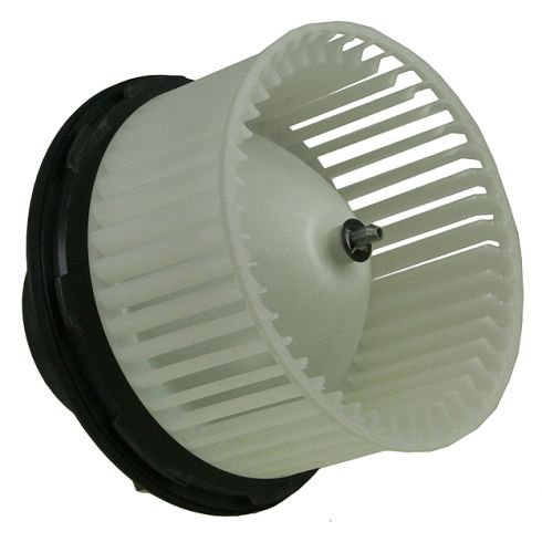 2007-09 GM EXT & CREW CAB PU FRONT Heater Blower Motor w/Cage w/o ATC
