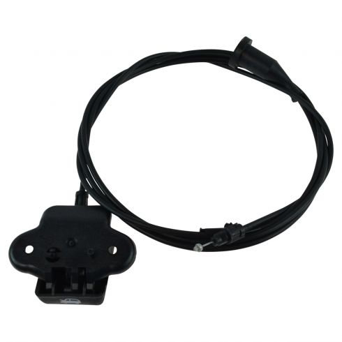 05-10 Chrysler 300; 05-08 Magnum; 06-10 Charger; 08-14 Challenger Hood Release Cable w/Pull Handle