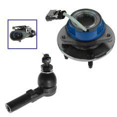 97-01 GM Multifit Wheel Hub & Outer Tie Rod Kit LF=RF