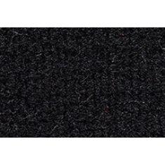 88-89 Mazda 323 Cargo Area Carpet 801 Black