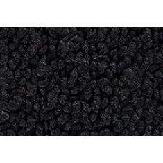 67-72 Chevrolet C10 Suburban Passenger Area Carpet 01 Black