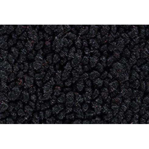 1969 Chevy Corvette Passenger Area Carpet 01-Black