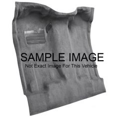 01-02 Chevrolet C3500 Complete Carpet 801 Black