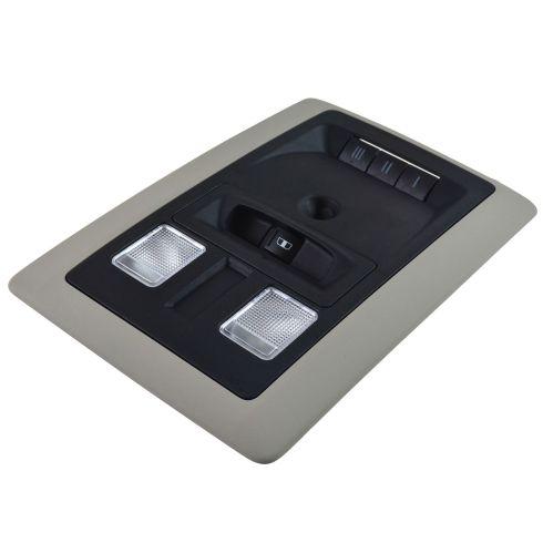 13-15 Ram 1500 2500 3500  Overhead Console w/ Window Switch Slate Gray (Mopar)