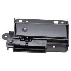 07-14 Chevy Silverado, GMC Sierra New Body Ebony Upper Glove Box Compartment Latch w/Handle