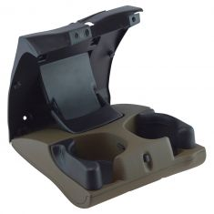98-02 Dodge Ram 1500, 2500, 3500 Instrument Panel Mounted Tan Pullout Dual Cup Holder (Mopar)