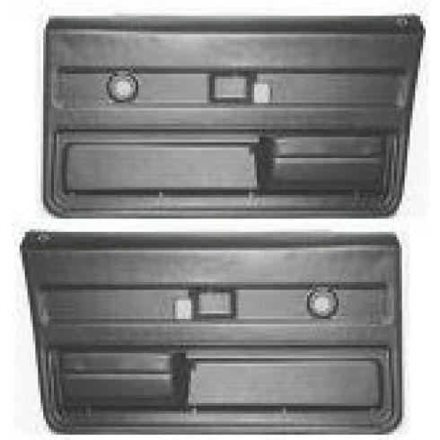 1973-76 GM Truck Molded Plastic Door Panels