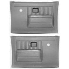 1977-81 GM Truck Molded Plastic Door Panels Rear