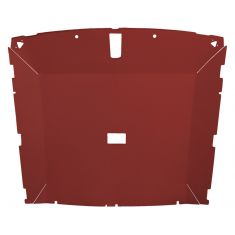 79-84 Mustang Htch (Dome Light 25.75 Inch) Cloth Black Solid Roof ABS Headliner