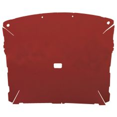 87-96 Ford F150,F250 Pickup Regular Cab Foamback Cloth Red/Scarlet ABS Headliner