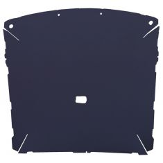 87-96 Ford F150, F250 Pickup Extended Cab Foamback Cloth Navy Blue ABS Headliner