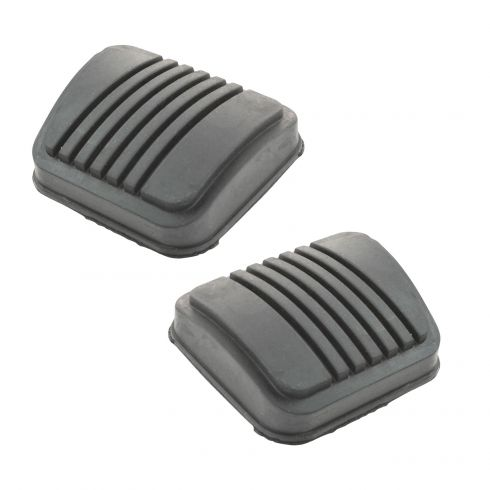 1971-93 Ford Multifit w/MT Brake & Clutch Pedal Pad Cover SET
