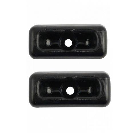72 MB 350SL; 81-85 380SL; 81 380SLC; 73-80 450SL, 450SLC; 86-89 560SL Black Sun Visor Clip PAIR