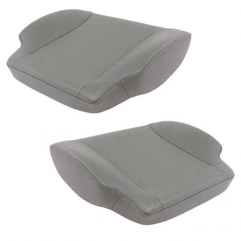 01-16 Intntl 3,4,7, 8 Srs (w/National Seating Seats) Gray Vinyl Lower Seat Cushion Assy Pair  (DM)