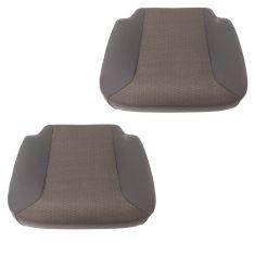 01-17 International (w/National Built Seats) Charcoal Cloth/Vinyl Lwr Seat Cush Assy PAIR (DM)