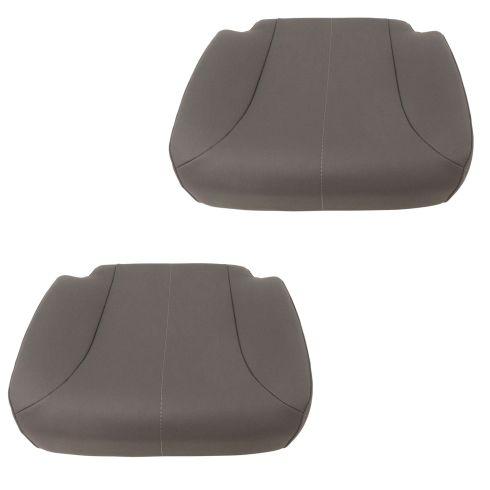 01-16 International (w/National Built Seats) Charcoal Vinyl Lower Seat Cushion Assy PAIR (DM)