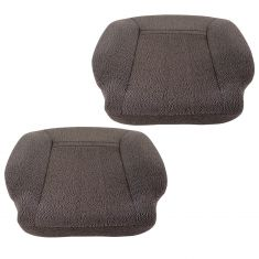 01-16 International (w/National Built Seats) Charcoal Twead Cloth Lwr Seat Cushion Assy PAIR (DM)