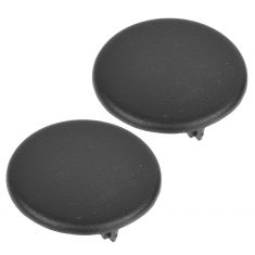 07-13 Chevy, GMC, Cadillac FS SUV Rear Armrest Black Trim Cover Cap Pair (GM)